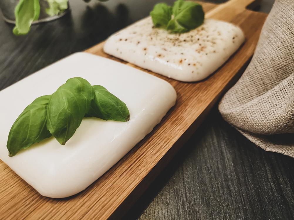 vegansk mozzarella