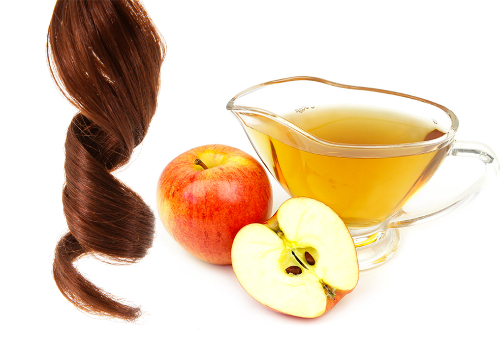 surskölj med äppelcidervinäger