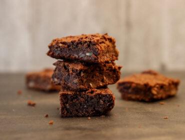 vegansk och glutenfri brownie