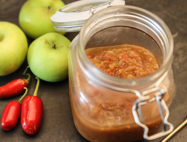 äppelchutney med chili