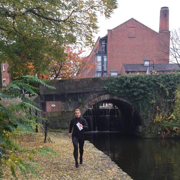 Löpning i Castlefield