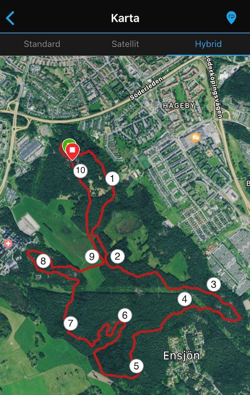 Reflexbana 10 km