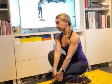 Stretch för benhinnor