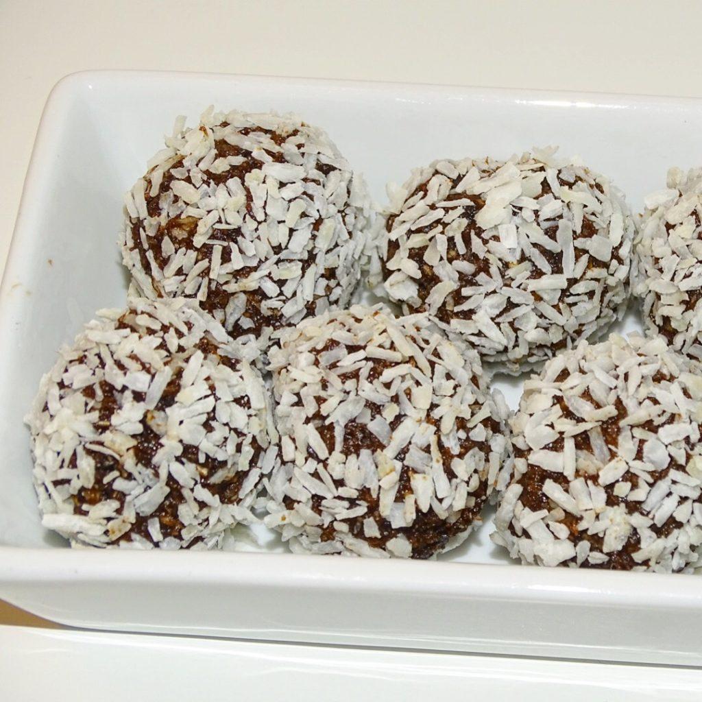 nyttiga chokladbollar jordnötssmör
