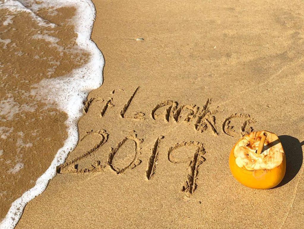 Sri Lanka i sanden
