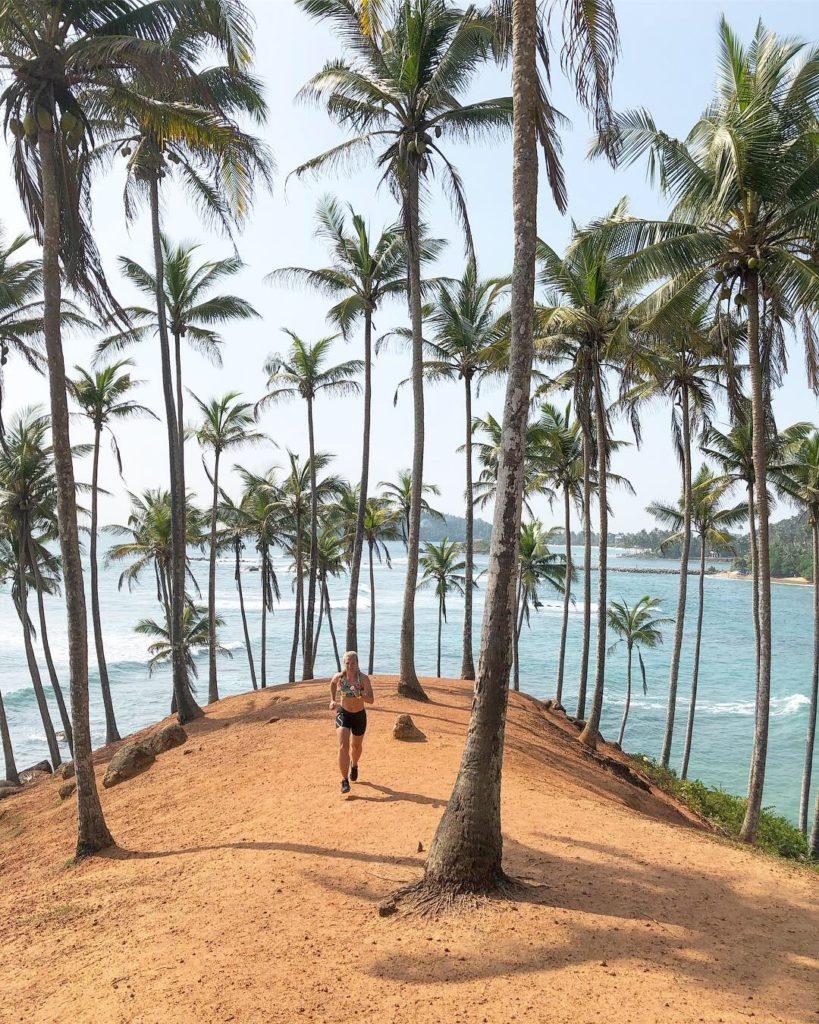 Löpning i Coconut Garden