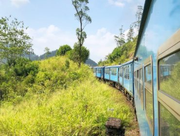 Blå tåget på Sri Lanka