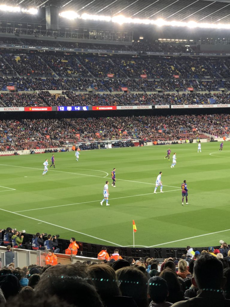 Dagen D - match på Camp Nou