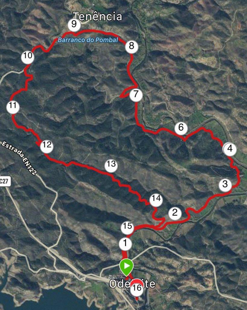 Bergspasset 14,7 km