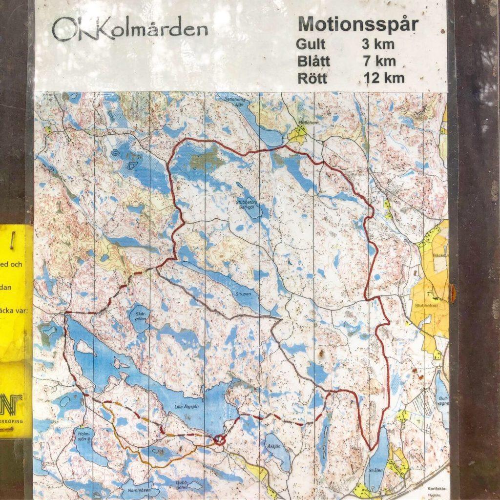 Lilla Älgsjön karta