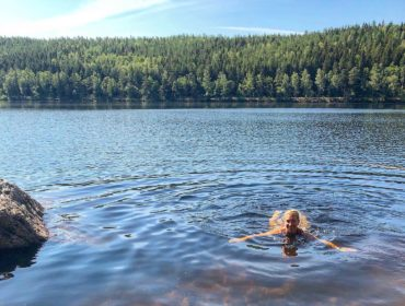 Bad i Ågelsjön