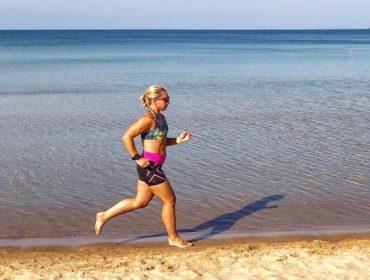 Strandlöpning