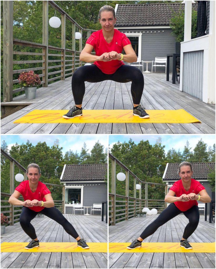 bodyweigth sway squat