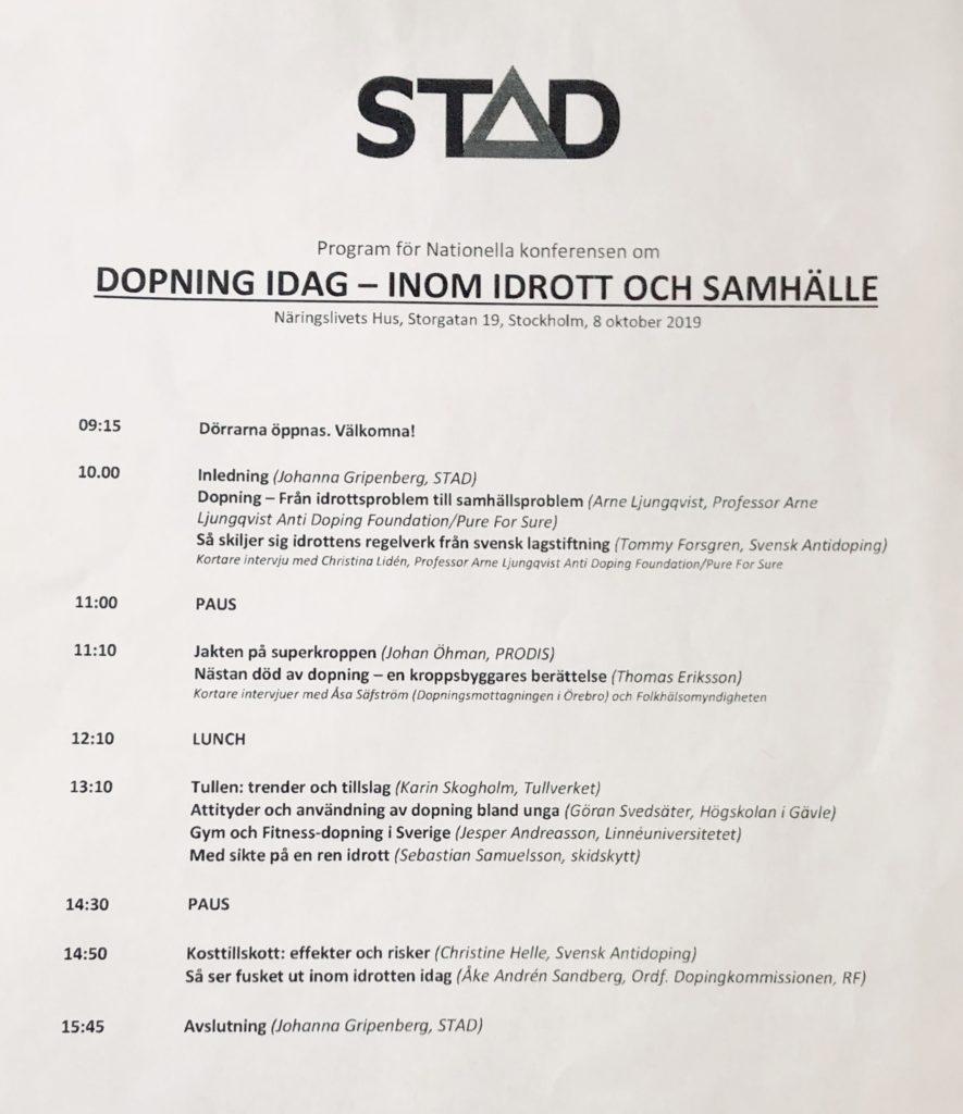 Dopning-konferens