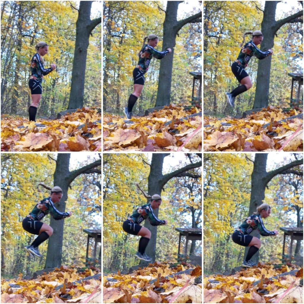 Boxjumps på sten
