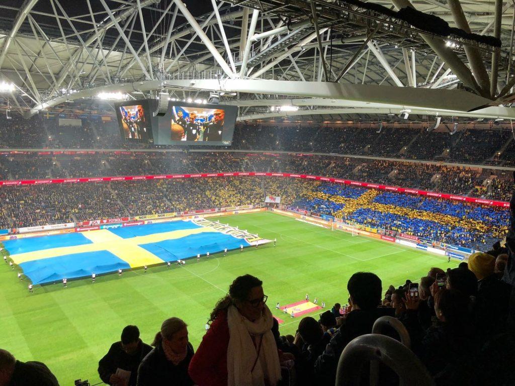 Fotbollslandskamp