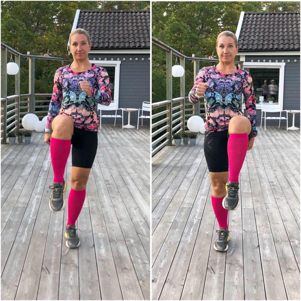 Höga knän