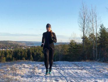 Första vinterlöpning