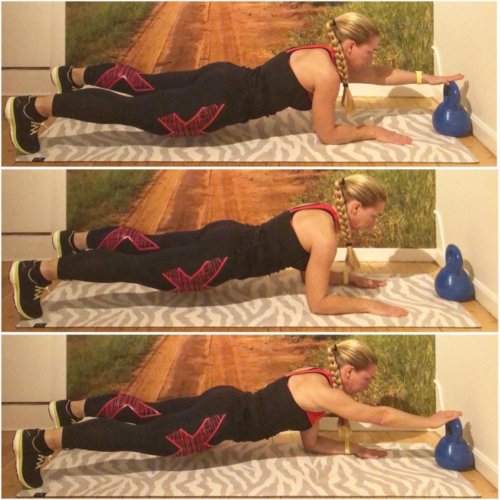 Planka med handtouch