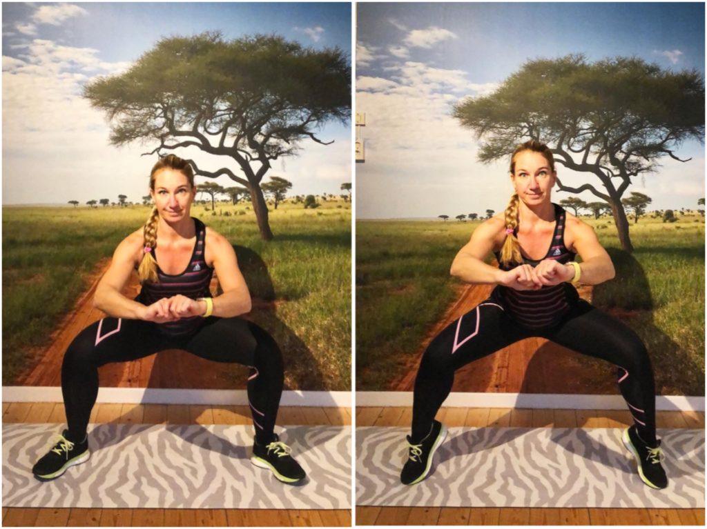 Breda squat med hällyft
