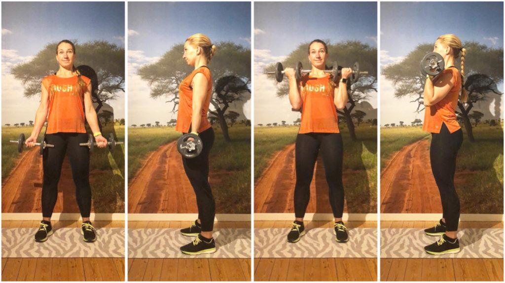 Biceps - från rak arm till axel