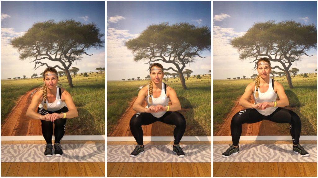 Squats i tre steg