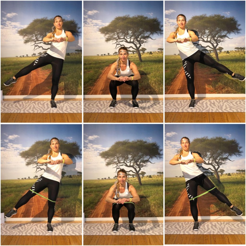 squats med sidobenlyft