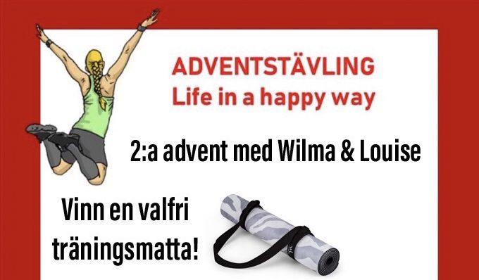 Vinn yogamatta från Wilma Louise