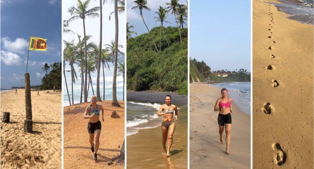 Löpning på Sri Lanka