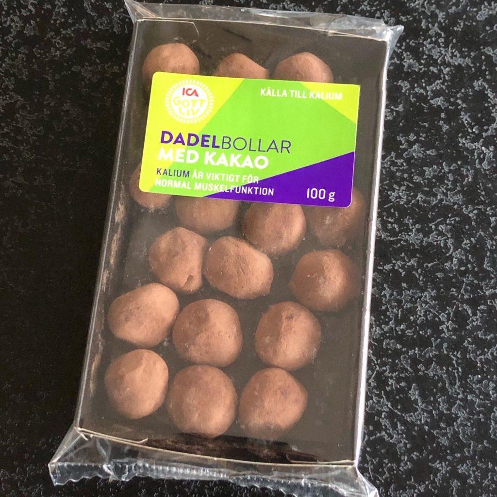 Dadelbollar med kakao