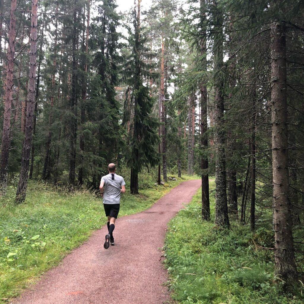 Löpning i Hemlingby