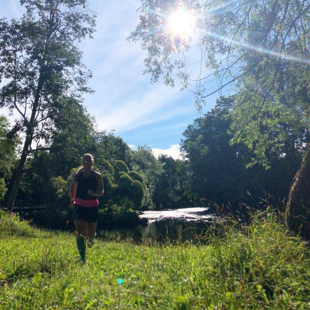 Löpning i Boulognerskogen