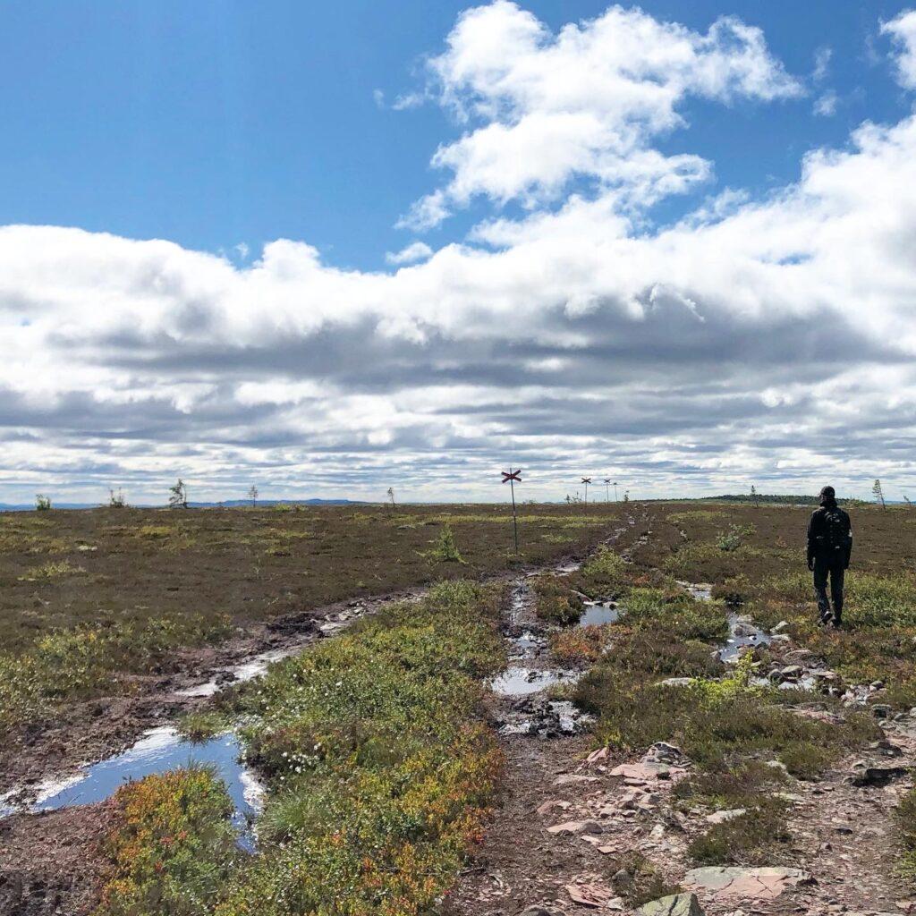 Stensjön, Hemfjällstangen och Mellanfjällsstugan runt