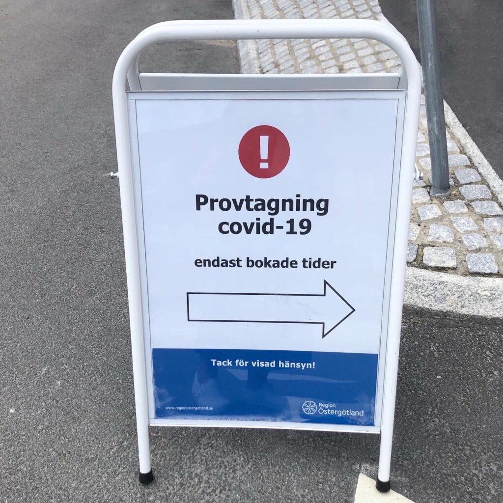 Covid-19, från symtom till diagnos