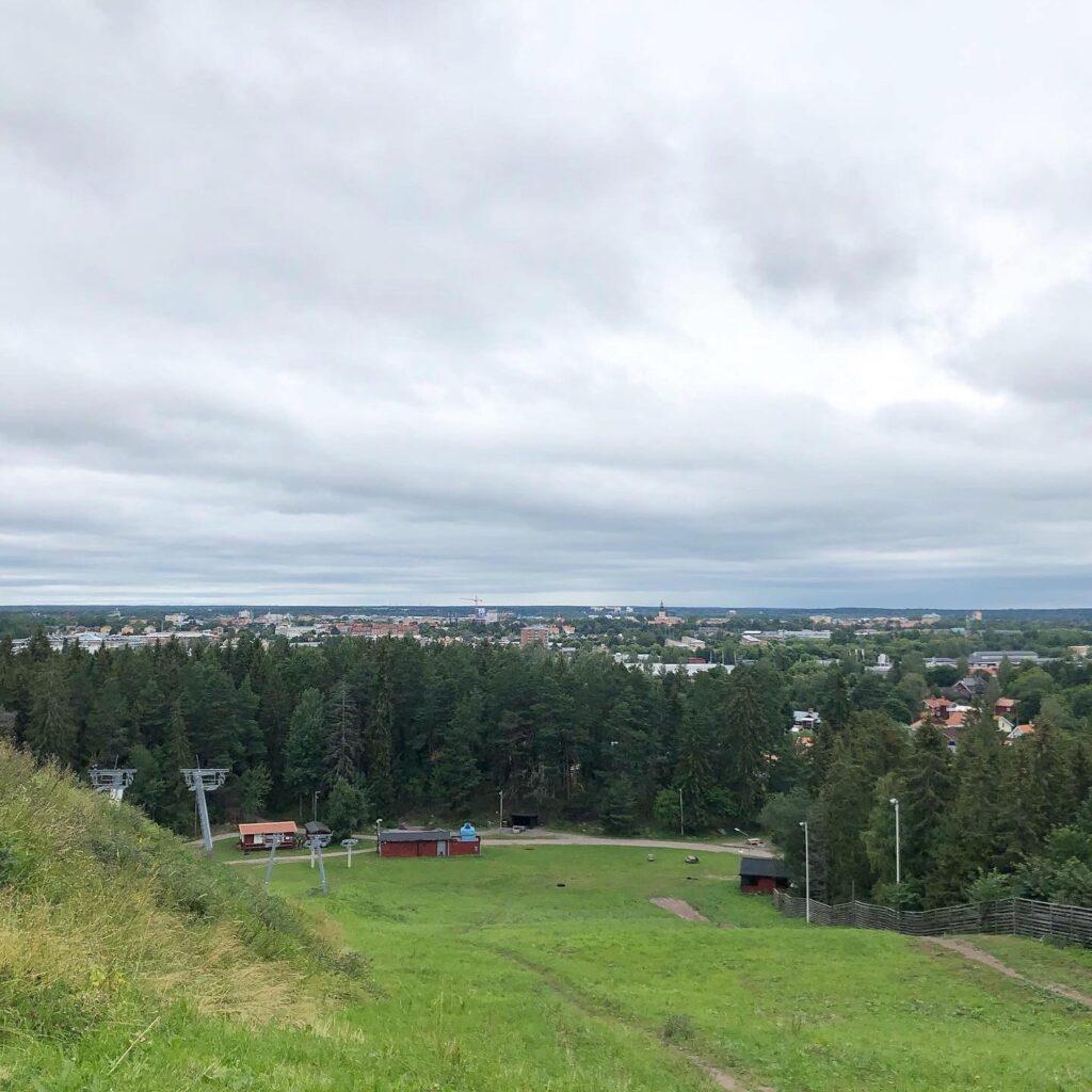 Utsikt från Hemlingbybacken