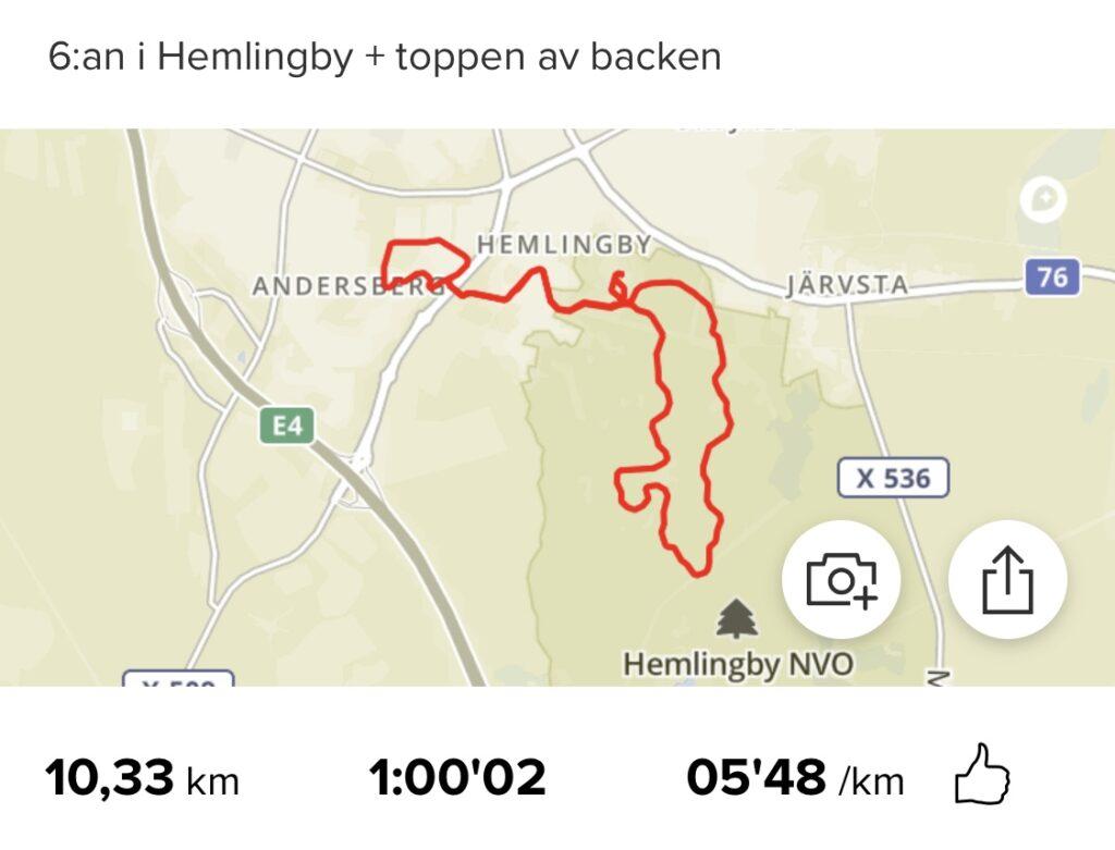 Avslutar juli med 10 km