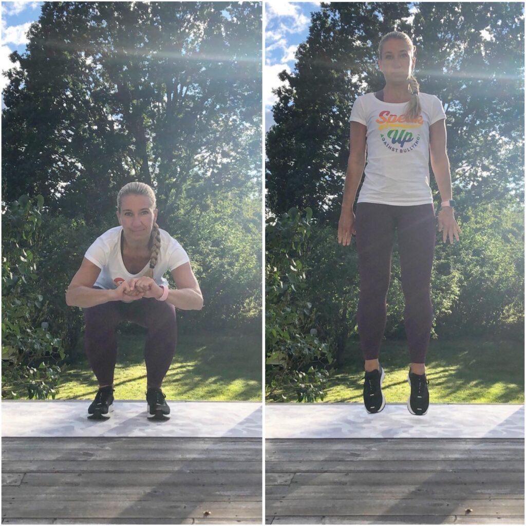 Dubbelstuds till squat