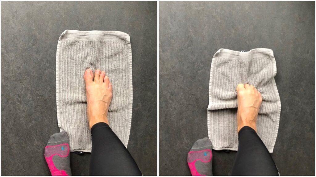 Tåknip - dra en handduk