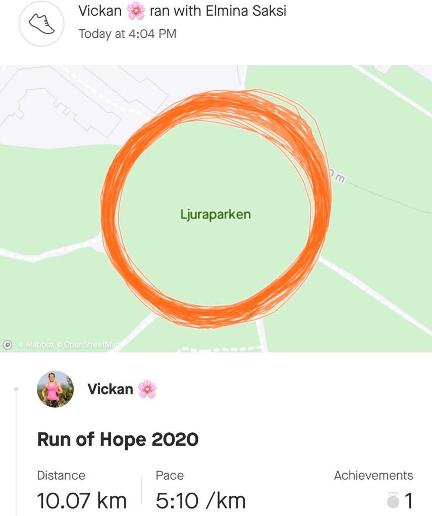 Run of Hope Ljura
