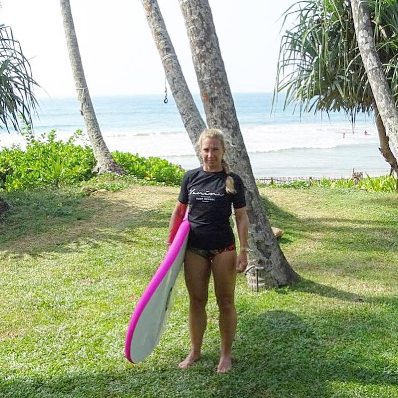 Surfing på Sri Lanka