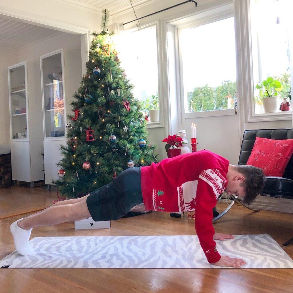 Burpee plankposition