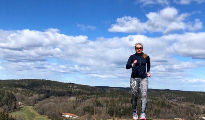 Löpning i Yxbacken