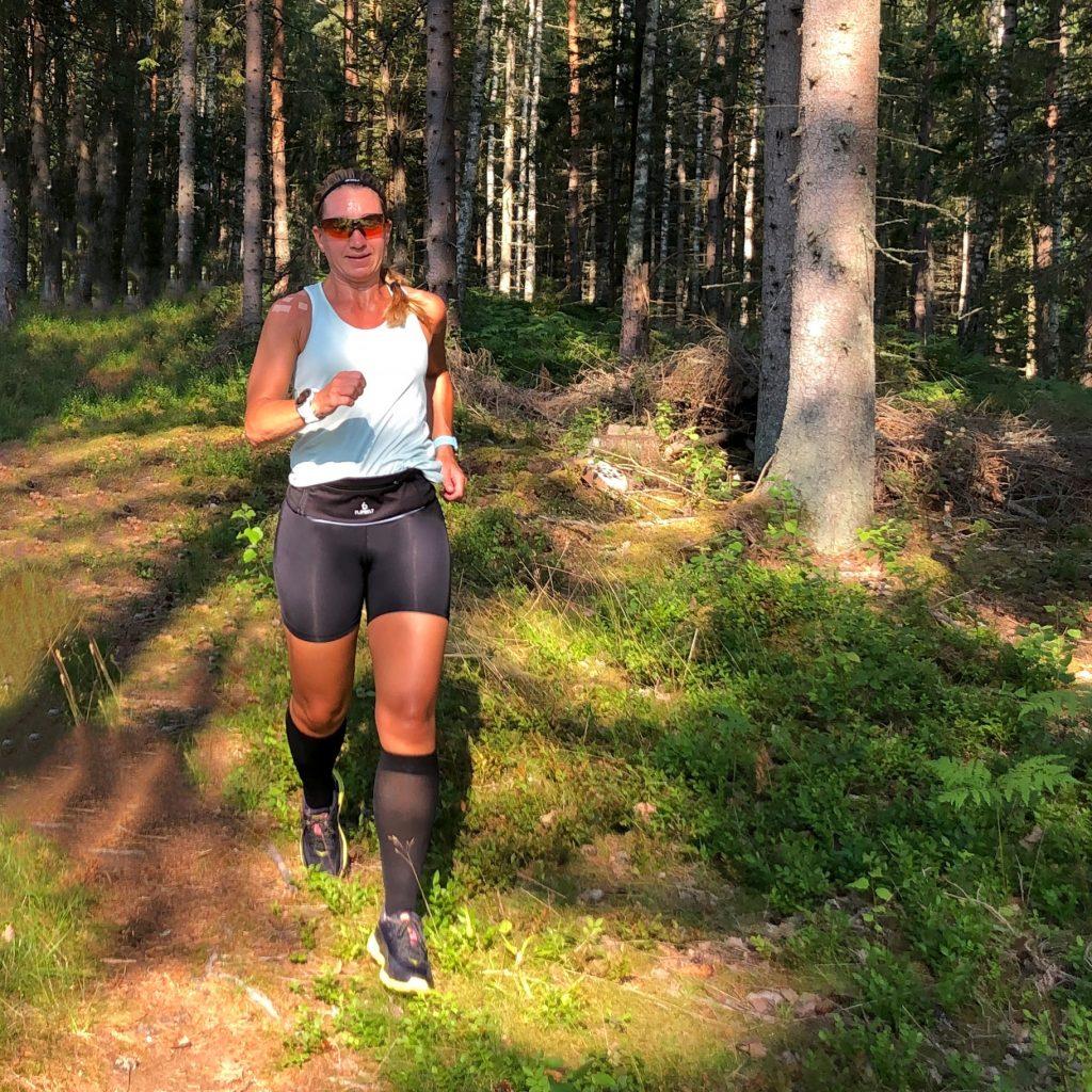 Löpning med Flipbelt