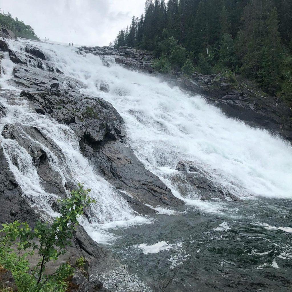 Handöl vattenfall