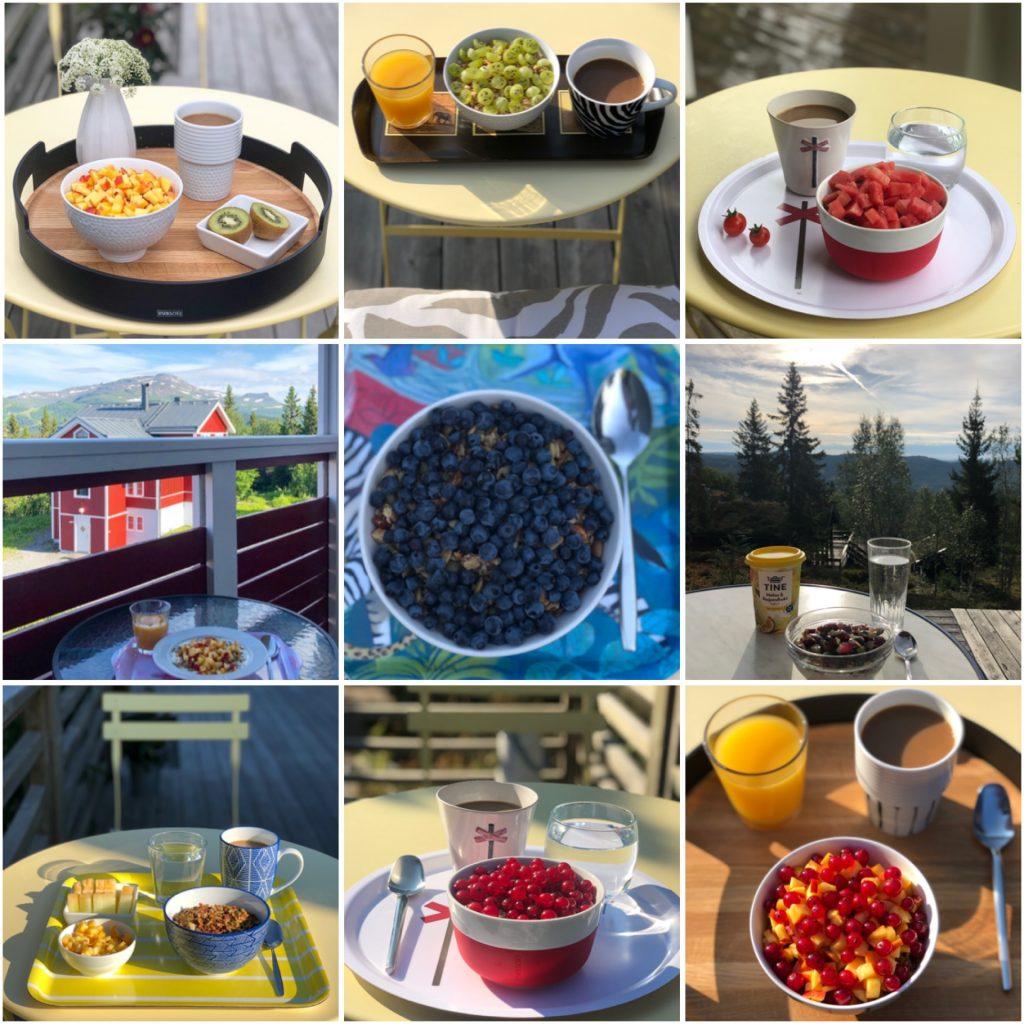 Frukost ute