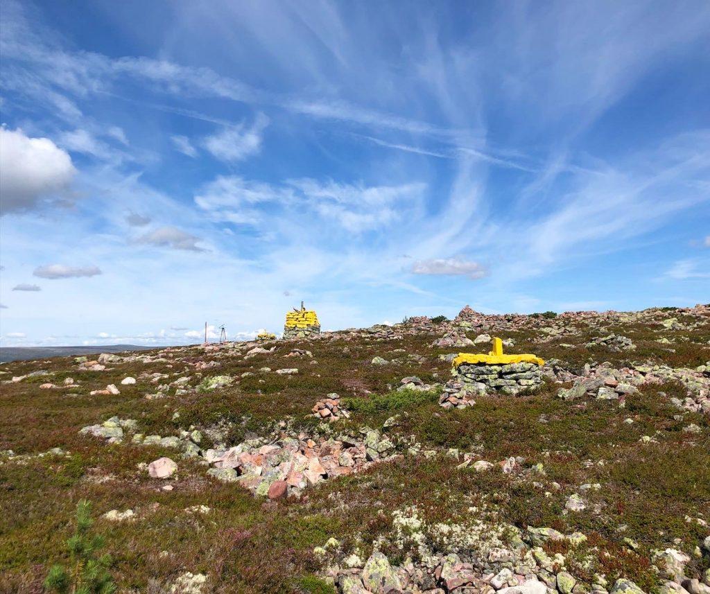 Riksgränsen mellan Sverige och Norge