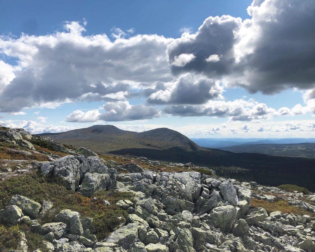 Utsikt från SKurufjellstjønna