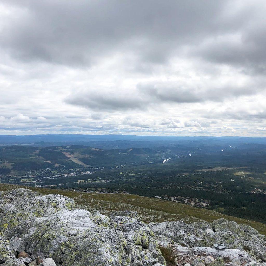 Utsikt från Trysiltoppen