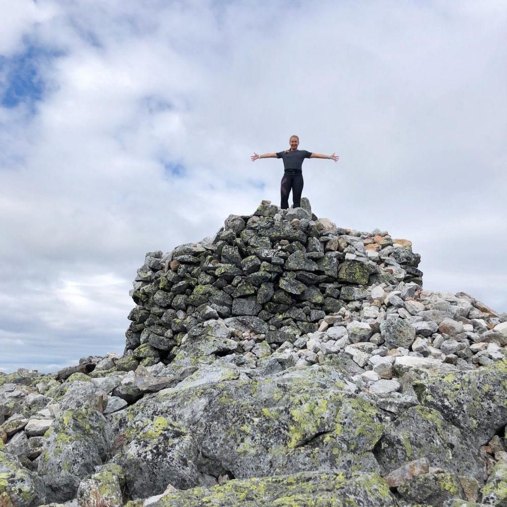 Toppen av Trysilfjellet
