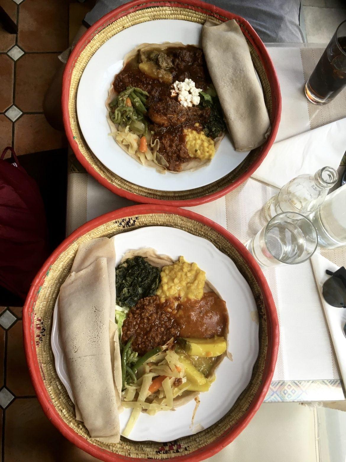 etiopisk restaurang söder
